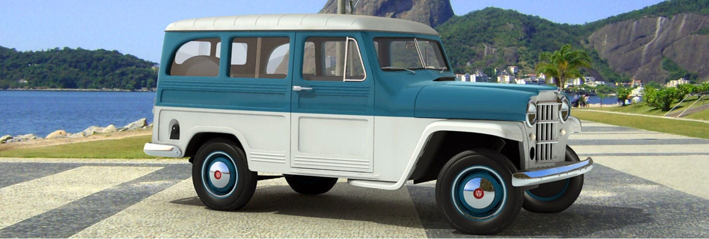 Modeling The Vehicles Of Yesteryear